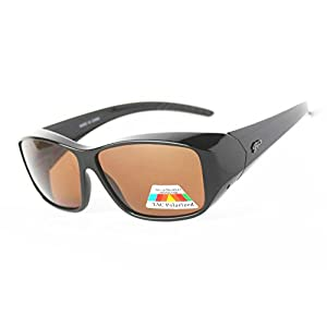 Fit Over Polarized Sunglasses to Wear Over Regular Glasses for Men and Women.