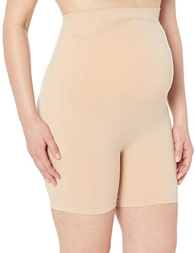Motherhood Maternity Women's Maternity Secret Fit Shaper Panty, Nude, 1X
