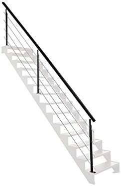 Kit subida de escalera 4 m EN ACERO galvanizado y Alu: Amazon.es: Bricolaje y herramientas