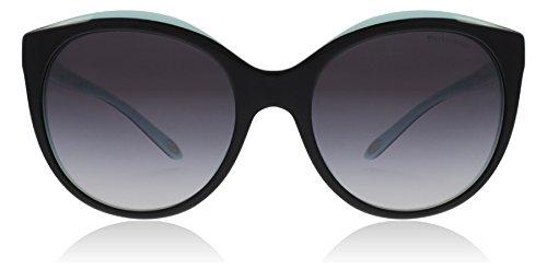 Tiffany TF4133 8055/3C Black/Blue TF4133 Round Sunglasses Lens Category 3 - Return To Tiffany