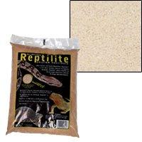 Carib Sea SCS00720 Reptiles Calcium Substrate Sand, 40-Pound, Natural White, Pack of 2
