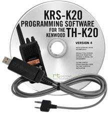 KRS-K20 USB Cable & RT Systems Software TH-K20A