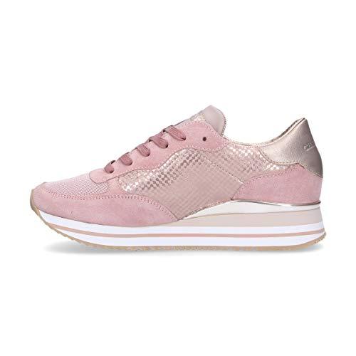 London Zapatillas Cuero Mujer Crime Rosa 25501r 7wfO6wCq