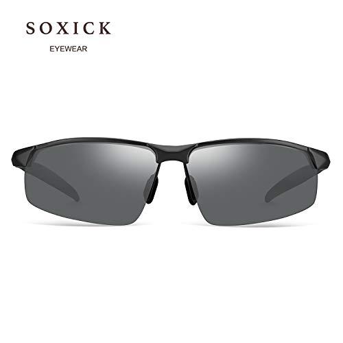 7c20603edce Amazon.com  SOXICK Polarized Sunglasses for Men Women Anti Glare Safety HD  Driving Glasses  Clothing