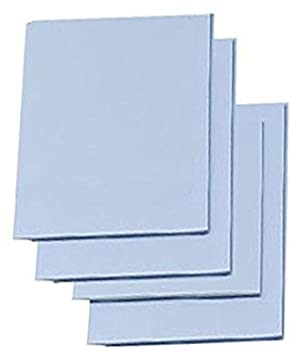 Easy Cut Carving Sheets 5 x 5 clear prints Easy-To-Cut Linoleum 4 Pack Blue Soft /& Firm Artist Printmaking Block Printing set for sharp