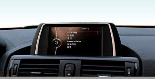 InteriorセンターコンソールGPSナビゲーションカバートリムfor BMW 1シリーズf20?2012???2016 BONGZUO