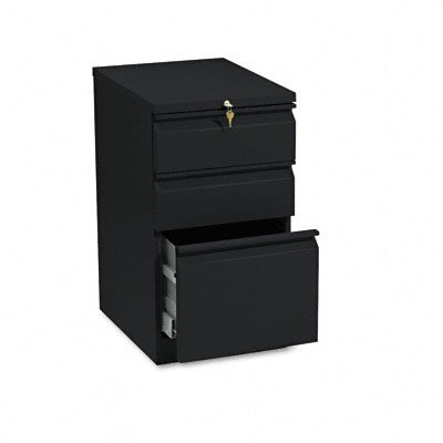 HON33720RP - HON Efficiencies Mobile Pedestal File with One File/Two Box Drawers (Hon Mobile File Pedestal)