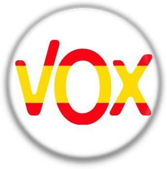 VOX Bandera : Partidos Politicos, Pinback Button Badge 1.50 Inch ...