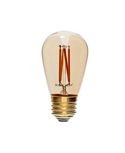 edison mills s14 antique led filament vintage light bulb for string lights ebay. Black Bedroom Furniture Sets. Home Design Ideas