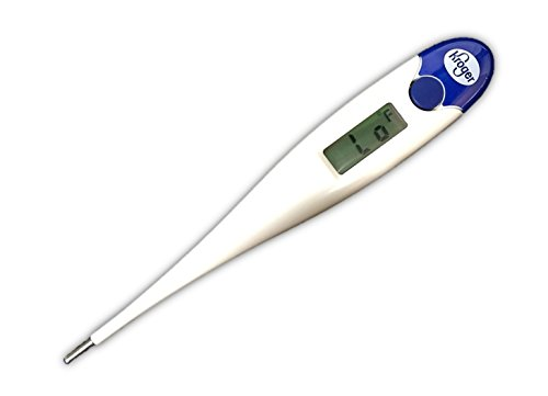 9-Second Digital Thermometer for Oral, Rectal or Under Arm Use