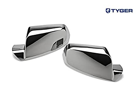 Tyger ABS Triple Chrome Plated A Pair Mirror Covers Fits 10-13 GMC  Terrain/Chevy Equinox