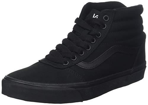 a Vans Sneaker Uomo Alto Nero Black Collo Canvas Canvas Hi 186 Ward Black OIrOS