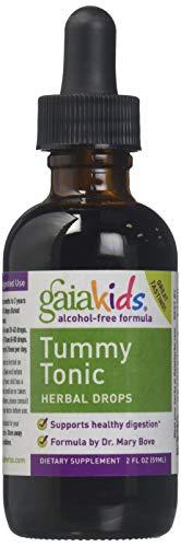 GaiaKids Tummy Tonic Herbal Drops, 2-Ounce