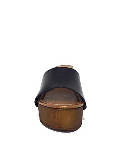 BOT pelle in Zoccoli 4616 tacco Nero MainApps medio 9022 BqgxCwnTxA