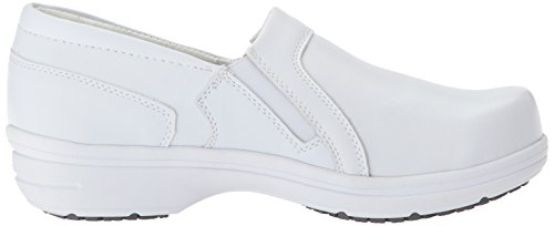 Easy Works Women's Bentley Health Care Professional Shoe, White, 9 M US by Easy Works (Image #7)