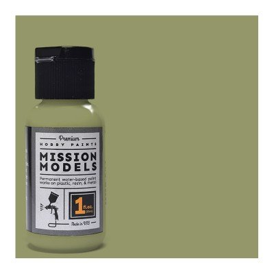 Mission Models Premium Hobby Paints - US Army Olive Drab Faded 2 (1oz bottle)