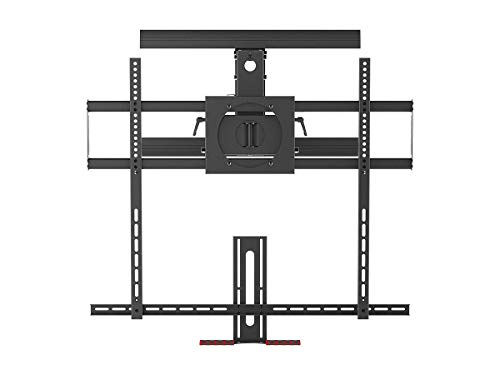 Monoprice Above Fireplace PullDown FullMotion Articulating TV Wall Mount Bracket  for TVs 55in to
