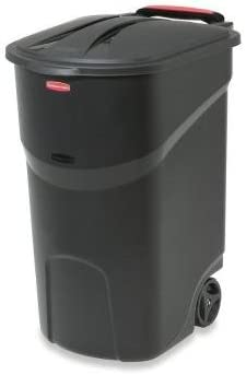 Rubbermaid Roughneck Black Wheeled Trash product image