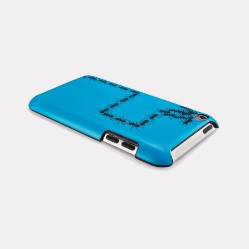 QDOS Creepy Crawlies Funda Azul Fundas para tel/éfonos m/óviles Funda, Apple, iPod touch 4, Azul