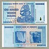 TrueFair Zimbabwe 100 trillion banknote