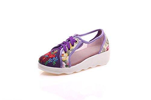 Zapatillas Mujer Para Morado Lazutom Morado Mujer Zapatillas Zapatillas Para Lazutom Lazutom 0fHqwpCCxn