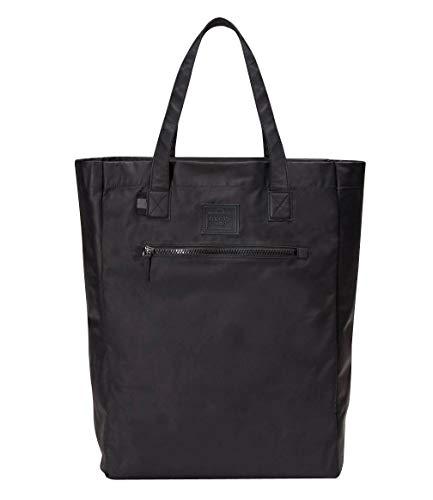 Gucci Men's Viaggio Collection Black Leather Small Foldable Tote Bag 308877 8615