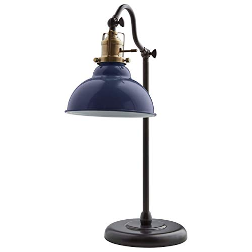 Stone & Beam Walters Vintage Task Lamp With Bulb, 19.9