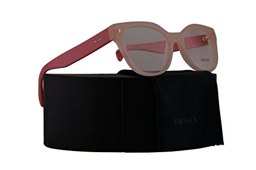 Prada PR21SV Eyeglasses 51-19-140 Opal Pink w/Demo Clear Lens UEW1O1 VPR21S VPR 21S PR - Usa Www.prada.com
