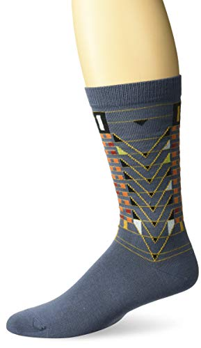 Ozone Mens FLW Tree of Life Sock-Grey, OSFM
