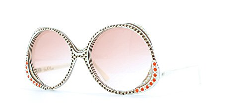 emilio-pucci-white-and-brown-authentic-women-vintage-sunglasses