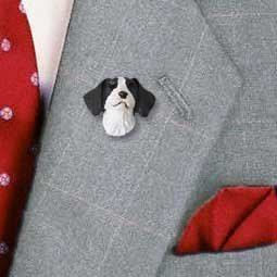 Conversation Concepts Brittany Liver & White Spaniel Pin (Set of 3) by Conversation Concepts