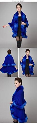 Unique Femme Taille Manteau Bleu Charmly tRq5xc1Pwz