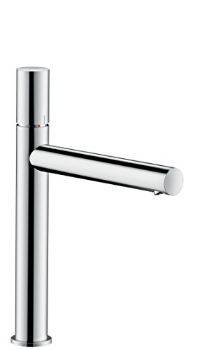AXOR Uno Basin Tap 200 Zero Handle, Without Waste, chrome