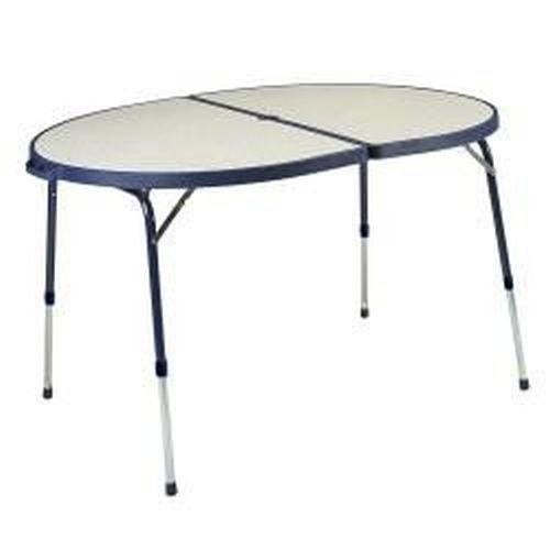 Stabielo-Camping Klapptisch - Holly® Produkte -Stabielo-Camping Klapptisch 120 x 90 x 68 cm azur oder grau - holly-sunshade ® - SO LANGE VORRAT REICHT !
