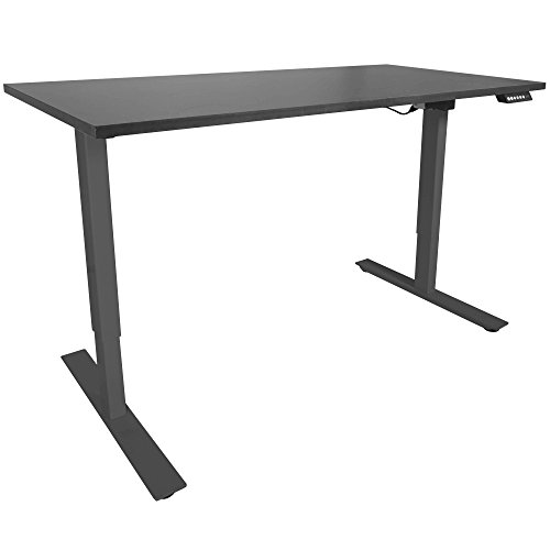 TITAN FITNESS A2 Adjustable Height Electric Motorized Sit to Stand Computer Work Desk 27