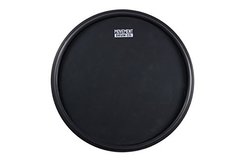 The 12-inch Double Sided Practice Pad, All-in-1 - Fully Rimmed With Four Different Hitting Surfaces, The Most Complete Practice Pad In The Market from Movement Drum Co.