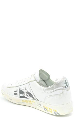 Ezbc031020 Cuero Blanco Premiata Mujer Zapatillas xO1aZnnqg