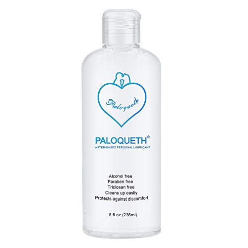 Lube for Women, PALOQUETH Personal Lubricants Water Based Lubricant Paraben-Free Hypoallergenic 8 oz
