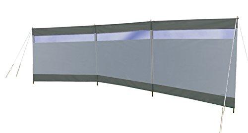 31PfF2buKmL Bo-Camp Windschutz Solid 500x140 Camping Sichtschutz XL Garten Strand Lang Groß