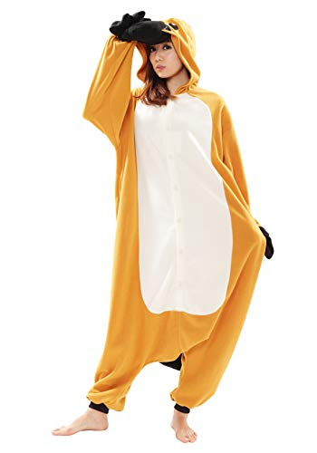 Platypus Kigurumi,Brown,Adult Costume -