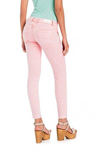 de Capri Rose Salsa Couleur Colette Pantalons avec Fermeture clair qA1vgHvnx