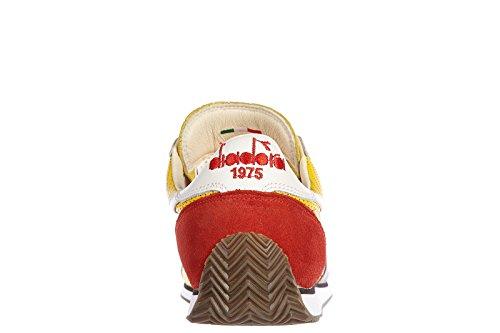 Diadora Heritage chaussures baskets sneakers homme en daim equipe lperfe vintage