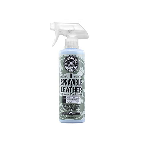 Chemical Guys SPI_103_16 Sprayable Leather Cleaner and Conditioner in One (16 oz) ()