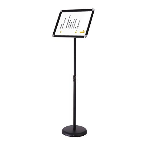 LAZYMOON A3 Adjustable Sign Holder Poster Stand Swivel Face 17