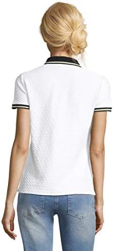 Betty Barclay damska koszulka polo koszulka biała 201-21511482: Odzież