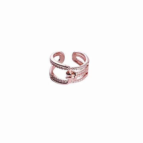 [해외]LOSOUL Adjustable Ring Stackable Ring Minimalist Fashion Open Ring Eternity Ring Wedding Band for Women / LOSOUL Adjustable Ring Stackable Ring Minimalist Fashion Open Ring Eternity Ring Wedding Band for Women