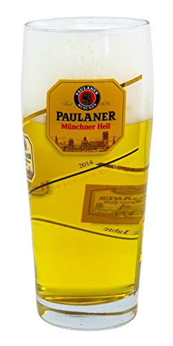 Paulaner Willi-Becher | Willi mug | Pilsener Lager beer glass 16.9 oz | -