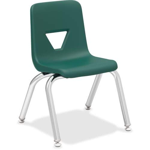 Lorell Classroom Student Stack Chairs, 12