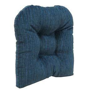 Klear Vu Polar Overstuffed Non Slip Large Dining and Kitchen Chairpad, 17