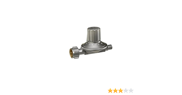 GOK - Regulador de Gas (1kg, Regulable 25-50mbar, PS 16 Bar)